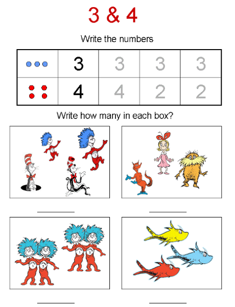 Math Activity Worksheets for Kids